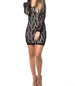 Vila Gaby New Dress Sandshell/Black