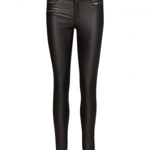 Vila Vicommit Rw Zip Coated-Noos skinny housut