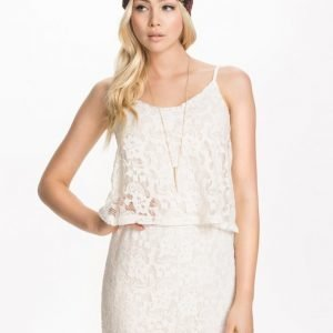 Vila Vifemme Playsuit Hot Coral