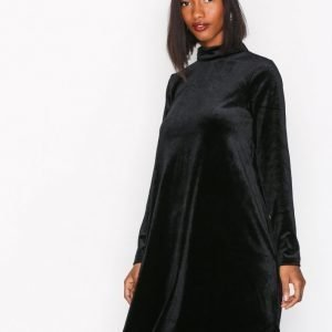 Vila Visince Dress 35 Pitkähihainen Mekko Musta