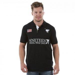 Vinson Polo Club Dax Pikeepaita Musta