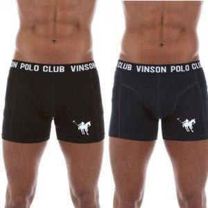 Vinson Polo Club Delbert Bokserit Musta / Sininen