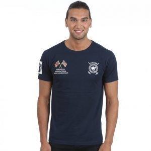 Vinson Polo Club Fabrice T-paita Sininen