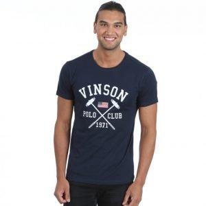 Vinson Polo Club Franco T-paita Sininen