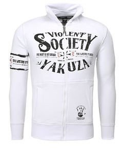 Violent Society Sweater White