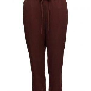 Violeta by Mango Baggy Soft Trousers leveälahkeiset housut