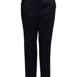 Violeta by Mango Belt Cotton-Blend Trousers chinot