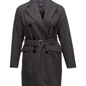 Violeta by Mango Belt Wool Coat villakangastakki