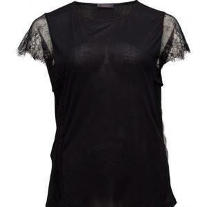 Violeta by Mango Blonda Sleeve T-Shirt lyhythihainen pusero