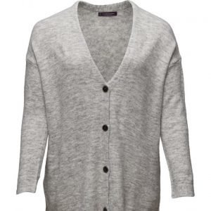 Violeta by Mango Buttoned Wool Cardigan neuletakki
