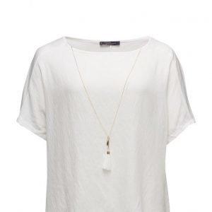 Violeta by Mango Chain Detail T-Shirt lyhythihainen pusero