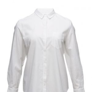 Violeta by Mango Chest-Pocket Cotton Shirt pitkähihainen paita