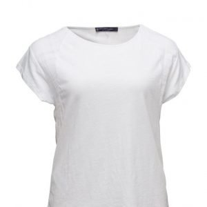 Violeta by Mango Contrasting Cotton-Blend T-Shirt