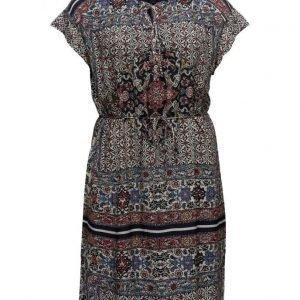 Violeta by Mango Contrasting Print Dress lyhyt mekko