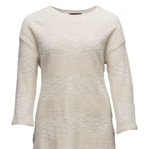 Violeta by Mango Cotton-Blend Knit Sweatshirt neulepusero