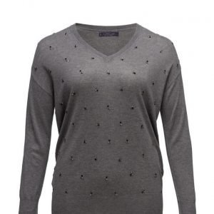 Violeta by Mango Cotton Wool-Blend Sweater neulepusero