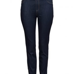 Violeta by Mango Dark Wash Massha Jeggings legginsit