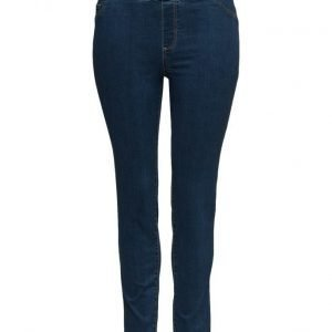 Violeta by Mango Dark Wash Massha Jeggings skinny farkut
