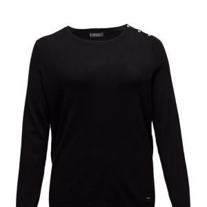 Violeta by Mango Decorative Button Sweater neulepusero
