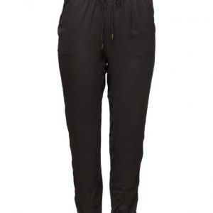 Violeta by Mango Drawstring Baggy Trousers suorat housut