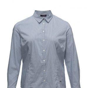 Violeta by Mango Fine-Stripe Shirt pitkähihainen paita