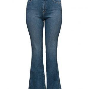Violeta by Mango Flared Selena Jeans leveälahkeiset farkut