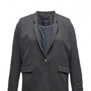 Violeta by Mango Flecked Cotton Blazer bleiseri