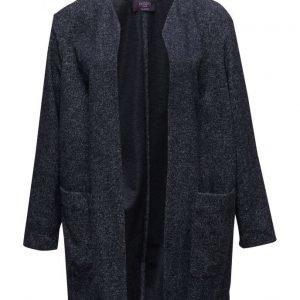 Violeta by Mango Flecked Cotton-Blend Jacket kevyt takki