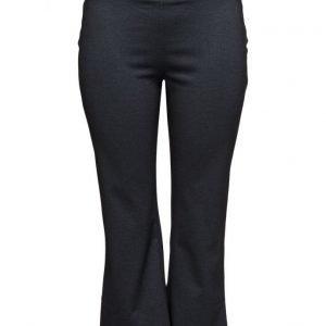 Violeta by Mango Flecked Crop Trousers leveälahkeiset farkut