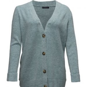 Violeta by Mango Flecked Wool-Blend Cardigan neuletakki
