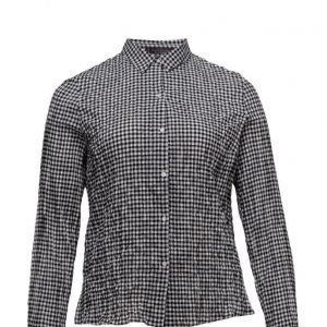 Violeta by Mango Gingham Check Shirt pitkähihainen paita