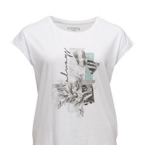Violeta by Mango Image Cotton T-Shirt