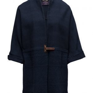 Violeta by Mango Jacquard Cotton Jacket kevyt päällystakki