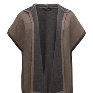 Violeta by Mango Knit Cape