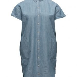 Violeta by Mango Light Denim Dress mekko