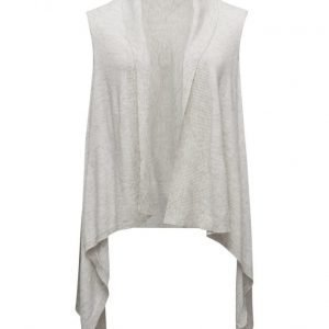 Violeta by Mango Lightweight Waterfall Gilet neuletakki
