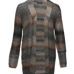 Violeta by Mango Long Wool-Blend Cardigan neuletakki