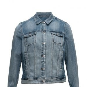 Violeta by Mango Medium Denim Jacket farkkutakki