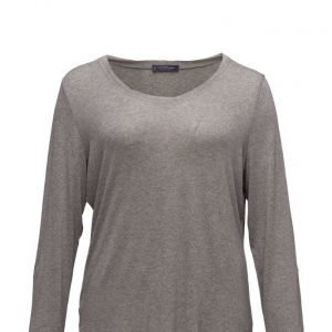 Violeta by Mango Metallic Thread T-Shirt