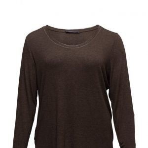 Violeta by Mango Metallic Thread T-Shirt neulepusero