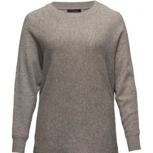Violeta by Mango Metallic Wool-Blend Sweater neuletakki