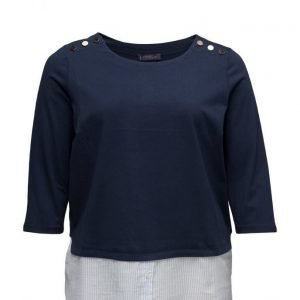 Violeta by Mango Mixed Cotton Sweatshirt