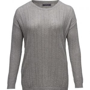 Violeta by Mango Open Work-Detail Sweater neulepusero