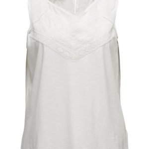 Violeta by Mango Openwork Cotton Top