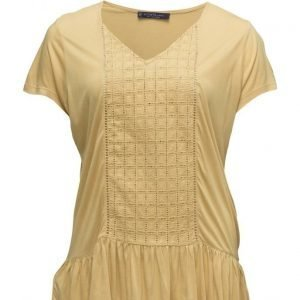 Violeta by Mango Openwork Panel T-Shirt