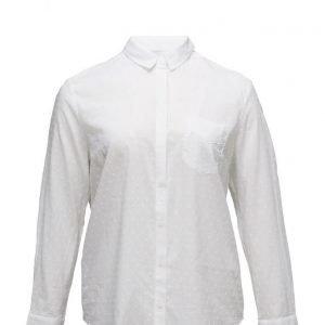 Violeta by Mango Plumeti Shirt pitkähihainen paita