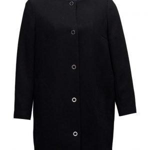 Violeta by Mango Studded Cotton Coat kevyt päällystakki