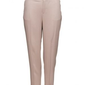 Violeta by Mango Textured Flowy Trousers casual housut