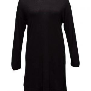 Violeta by Mango Wool-Blend Ponte Dress neulemekko