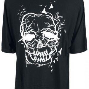 Vixxsin Skull Crow Twin Top Naisten T-paita